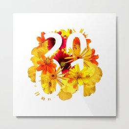 Flower 2001 Metal Print