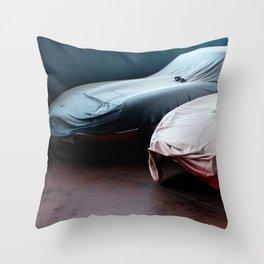 E-Type Undercover Throw Pillow