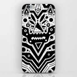 Space Bear iPhone Skin