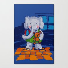 Playing Toys Canvas Print