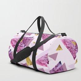 Bloom Abstract Geometry Duffle Bag