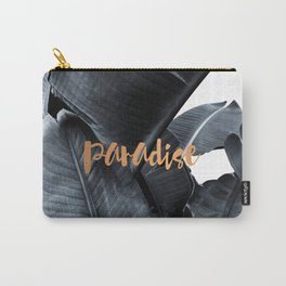 Tropical paradise - charcoal copper Carry-All Pouch