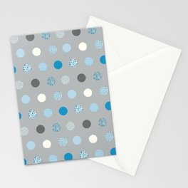 floral dots Stationery Cards