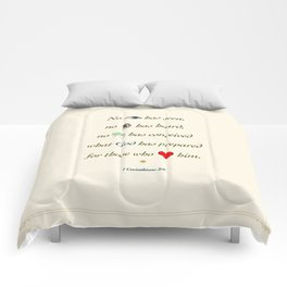No Eye Has Seen Comforters
