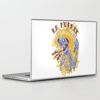 mexican Laptop & iPad Skins featuring Mexican death by Tshirt-Factory