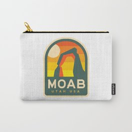Moab Utah Patch Carry-All Pouch