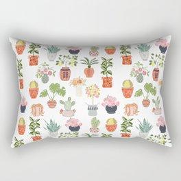 Indoor Garden Planters Rectangular Pillow