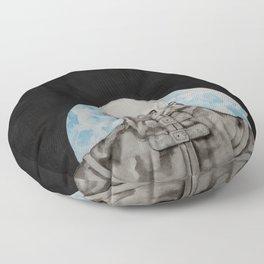Cloak of Night Floor Pillow