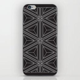 Geometric optical work iPhone Skin