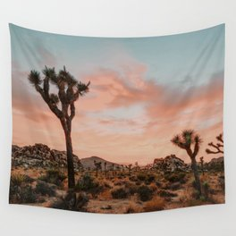 Joshua Tree IX / California Desert Wall Tapestry