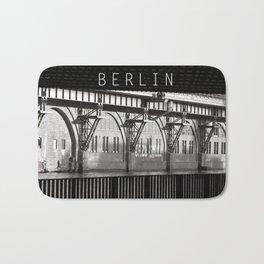 Jannowitz-Bridge - Berlin Bath Mat
