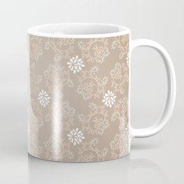 Beige silk Coffee Mug