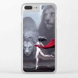 Lions Clear iPhone Case