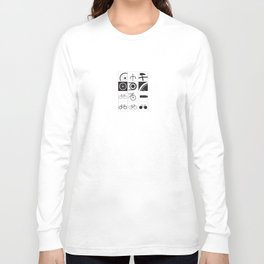 Bicycle Illustrations Long Sleeve T-shirt