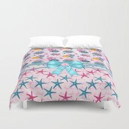 Starfish Sea Life Tropical Fish Duvet Cover