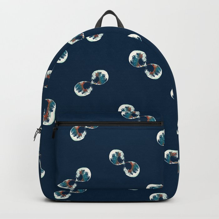 The Wave is forever Backpack