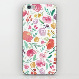 Peony Roses and Floral blooms iPhone Skin