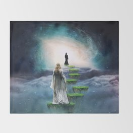 Journey to Happiness Throw Blanket