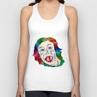clown Tank Tops featuring CLOWN by Masonjohnson