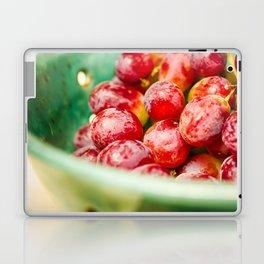 Red Grapes Laptop & iPad Skin