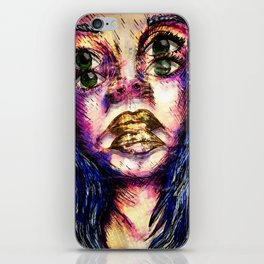 Golden Fantasy iPhone Skin