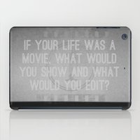movie posters iPad Cases featuring Movie by Madison Daniels