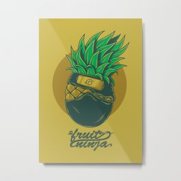 Fruit ninja Metal Print