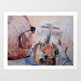 SENSATION Art Print