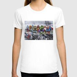 Superhero Lunch Meetup T-shirt