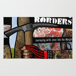 Without Borders with Titles Rug