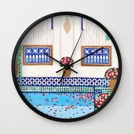 Riad Tamarrakecht Wall Clock
