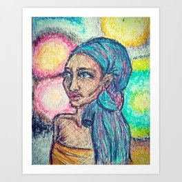 Ethiopian Queen Art Print
