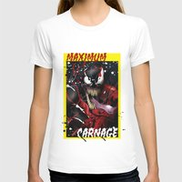 carnage T-shirts featuring Maximum Carnage by JHC Studio