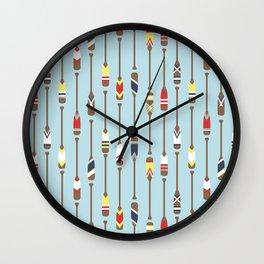 Bait & Sail - Oars Wall Clock