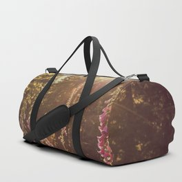 A New Day Wildflowers at Dawn - Nature Photography Duffle Bag