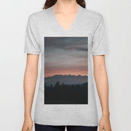 Mountainscape - Landscape and Nature Photography Unisex V-Neck