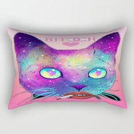 Bitch Face Rectangular Pillow