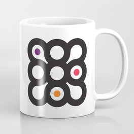 Circles 3x3 #1 Coffee Mug