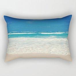 Waves in Paradise Rectangular Pillow