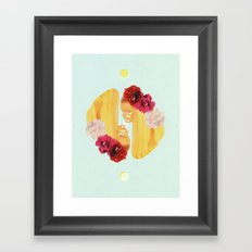 selene and eos Framed Art Print