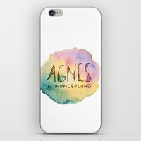 agnes cecile iPhone & iPod Skins featuring Agnes in Wonderland by Agnes in Wonderland