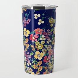 tangled floral Travel Mug