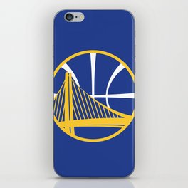 Warriors Logo iPhone Skin