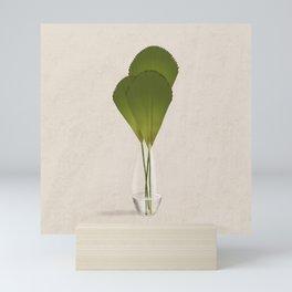 Ruffled Fan Palm Mini Art Print