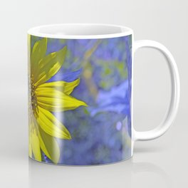 Sunny on Blue Coffee Mug