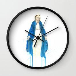 The Virgin Mary Wall Clock