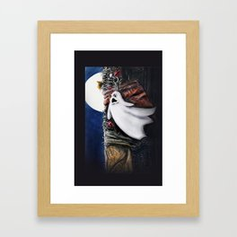 HAVE YOU SEEN ME Framed Art Print