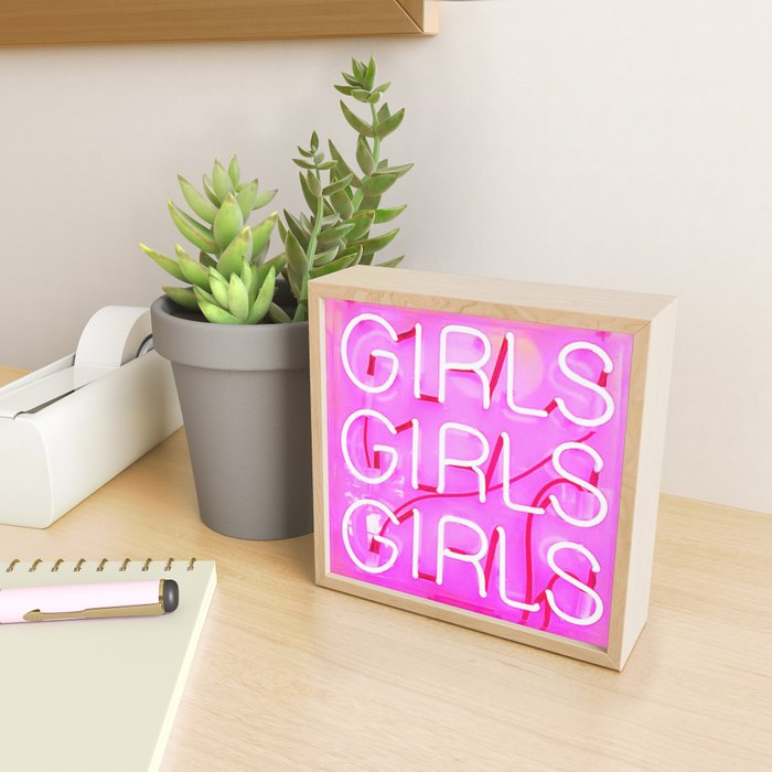 Girls Framed Mini Art Print