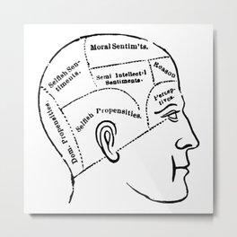 Human mind Metal Print