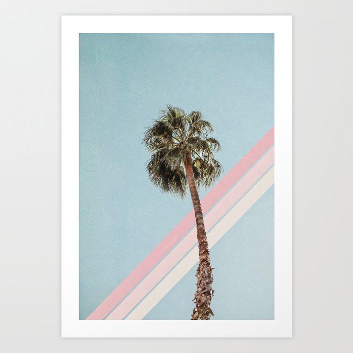 Summer Palm Tree Kunstdrucke